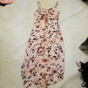 Sweatheart Floral Dress